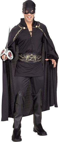 Zorro Costume for Adults - Party City
