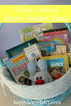 Christ-Centered Easter Basket Ideas   Happy Home Fairy