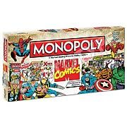 #Marvel Comics Collector's Edition Monopoly Board Game