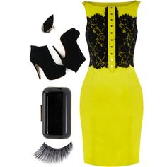 big night out., created by dresdenkay on Polyvore