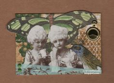 by Michele Storms  http://artfromthewell.blogspot.com/ Lunagirl Moonbeams by Lunagirl Vintage Images