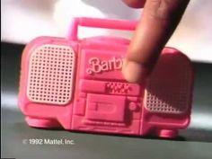 Barbie Life, Barbie And Ken, Pink Barbie, 1980s Childhood, Childhood Memories, Barbie Images, 90s Toys, Mattel Dolls, Boombox