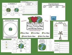 Get ready for Earth Day and Arbor Day with this Earth Friendly, kid friendly, and teacher friendly unit. You'll find age-appropriate thinking maps ...