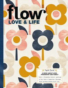 Flow Love and Life Magazine Special Edition Ideas Vintage, Vintage Colors, Magazin Design, Magazine Illustration, Life Magazine, Magazine Art, Fabric Painting, Book Design, Design Ideas