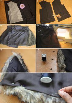 Faux Fur Vest 4