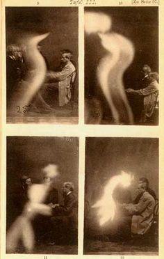 J. Beattie, Spirit photographs, 1872/73