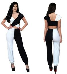 Women's Clothing Tireless New Hot Sale Women Ladies Clubwear V Neck Playsuit Bodycon Party Jumpsuit&romper Trousers