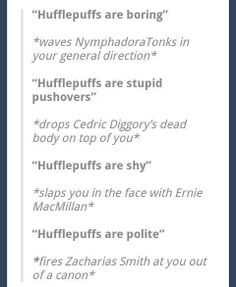 hufflepuff funny - Google Search