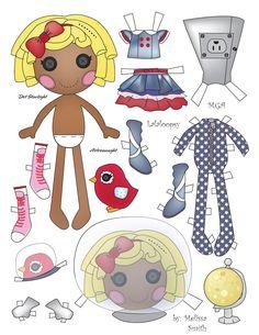 Miss Missy Paper Dolls: Dot Starlight