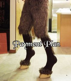Faun Pants and Hooves by ChaosCostumes on Etsy, $96.67