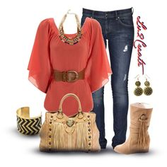 A fashion look from February 2013 featuring Jane Norman blouses, Lee jeans and Joe Browns boots. Browse and shop related looks.