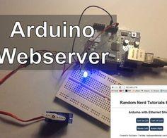 Arduino Webserver Control Lights, Relays, Servos, etc...