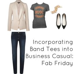 Another outfit I'd love to wear to work everyday. Minus the flats and gold jewelry.