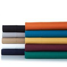 Concierge Collection 4-piece Microfiber Sheet Set - Blue - Twin