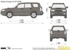 Subaru forester 2.5XT (2006)