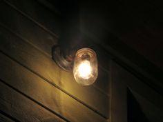 Mason Jar + Pipe Lighting
