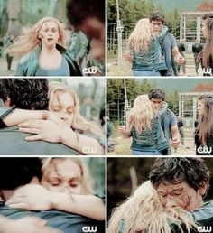 This is my favorite Bellarke scene. You'd be lying if you said that these two weren't in love with each other