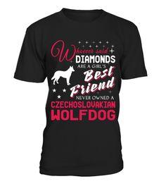 Czechoslovakian Wolfdog lover cute tshirt