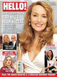 Celebrity and royal news and photos in HELLO! Magazine -Issue 1420- 7th March 2016