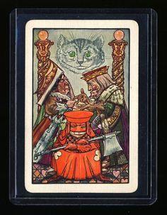 A E Jackson'S Alice IN Wonderland Exceedingly Rare Playing Card C 1914 | eBay