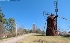 Tammisaaren vanha vesitorni ja vanha tuulimylly, Myllymäellä - vanha vesitorni Raasepori Tammisaari Ekenäs