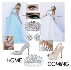 """""""Either or"""" by jazzminmillwood on Polyvore featuring Sherri Hill, Lauren Lorraine, Jimmy Choo and Bling Jewelry"""