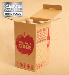 The Dieline Awards 2011: Third Place - Rochdale Cider - The Dieline -