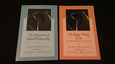 The Elements of Moral Philosophy 5th Ed The Right Thing to do Rachels 4th Ed | eBay