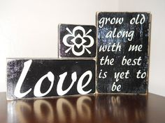 Wood crafts!  This girl is amazing and has TONS of cute DIY wood crafts!!!!