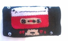 Cassette Tape Felt Android/Iphone Case. $20.00, via Etsy.