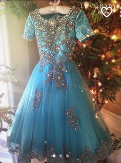 Little girl gown flower girl dress