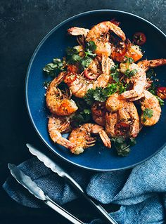 bon Appétit | Stir Fried Chili Shrimp |  Eva Kolenko Photography
