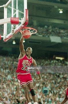 Fotografia de notícias : Pontiac, MI-Chicago Bulls superstar Michael...