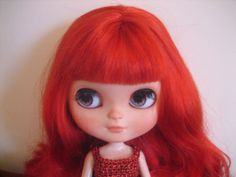 SUNDAY-SALE-Gorgeous-Custom-ICY-doll-Ruby-beautiful-red-hair