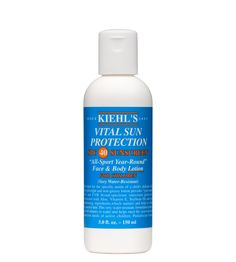 Vital Sun Protection Lotion SPF 40 -- I always apply this sunscreen on top of BB cream. Anti-aging and anti-wrinkle effect guaranteed.