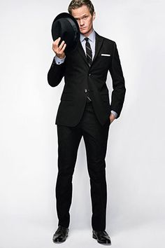 Yeah...he's my style...lol...seriously, dig Neil Patrick Harris because he is a freakin' clothes horse as well as a TYPHOON of talent...CHECK OUT HIS PANTS!!! I love that slim look on guys but it seems only models or gorgeous gay men will wear it...