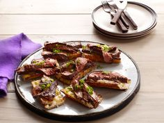 Flank Steak With Balsamic Barbecue Sauce