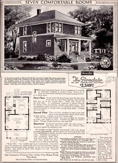 CURB APPEAL – another great example of beautiful design. 1923 Sears Glendale