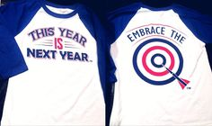 Awesome and NEW! Kids sizes in the baseball-style tee – This Year IS Next Year