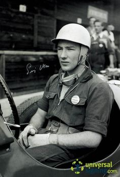 Stirling Moss | Stirling Moss Motor Racing Signed 12x8 Photo - Sport - Universal ...