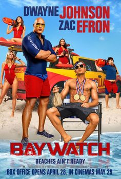 Baywatch: nuovo trailer red band del film con Dwayne Johnson e Zac Efron Film 2017, Hd Movies Online, New Movies, Best Movies 2017, Movies Free, Watch Movies, Latest Movies, Baywatch Poster, Em Breve Nos Cinemas