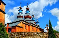 Kościoły drewniane - Renata Gontarz: CERKIEW PRAWOSŁAWNA W KOMAŃCZY