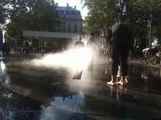 Brumisateur Place de la République