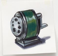 Multi-size Pencil Sharpener (with handle) by Lisa Milroy » Shop » Drawing Room