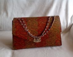 Ankara purse. Colorful and simple at the same time. Elegant purse. African fashion. Contact me to order
