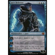Magic: the Gathering - Jace Beleren - Duel Decks: Jace vs Chandra.  Duel decks are cool too.