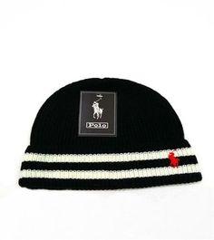 100/% Acrylic Beanie Hat Polo Assn U.S Mens Fine Knit Cuffed Winter Beanie