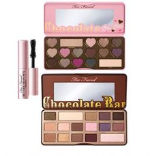 Too Faced Ultimate Chocolate Shadow & Mascara Set