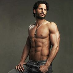 joe manganiello girlfriend | True Blood star Joe Manganiello is engaged to his girlfriend, Audra ...