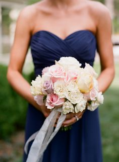 Pink Lavender Cream and Yellow Rose Bouquet | photography by http://www.katemurphyphotography.com